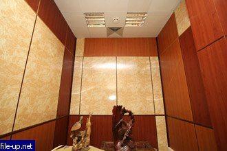 Фото помещения с ламинированным гипсокартоном