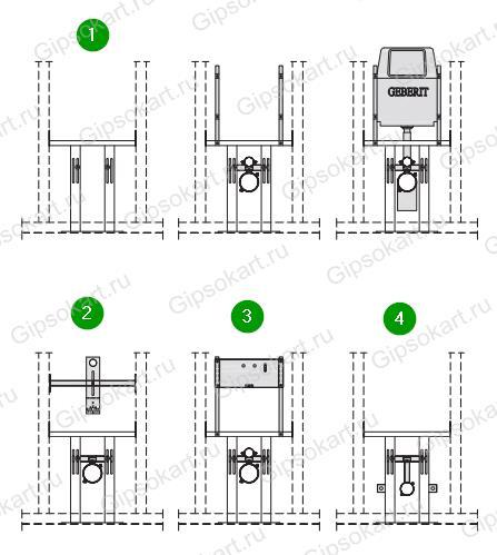 instaljazija v gipsokartone ustanovka 2