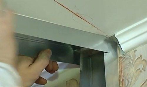 изготовление каркаса для гипсокартона