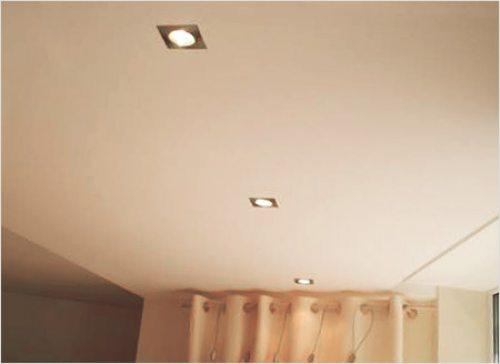 как делать потолок из гипсокартона видео