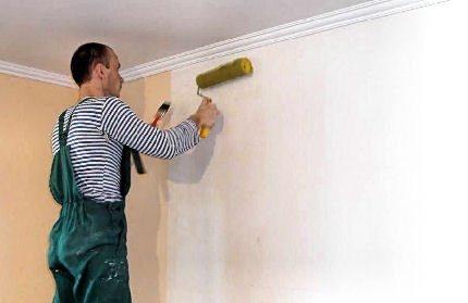 как покрасить гипсокартоновую стену