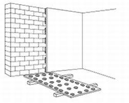 как приклеить гипсокартон к кирпичной стене
