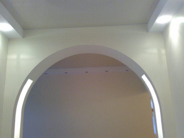 как сделать арку из из гипсокартона