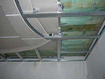 как сделать гипсокартонный потолок с подсветкой