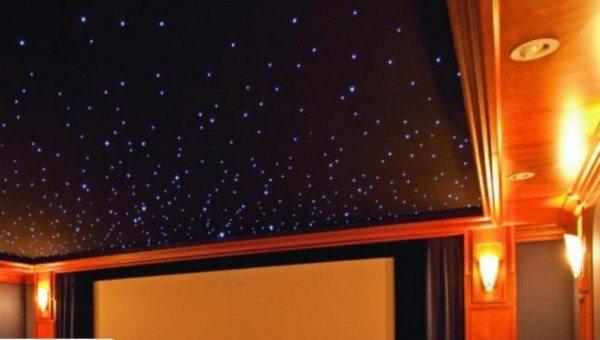 как сделать на потолке звезду из гипсокартона