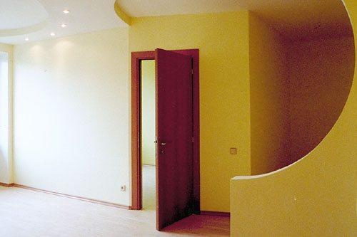 как вставить дверь в гипсокартонную перегородку