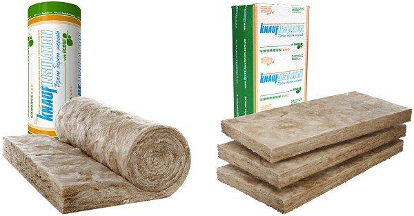 KNAUF Insulation в плитах и рулонах