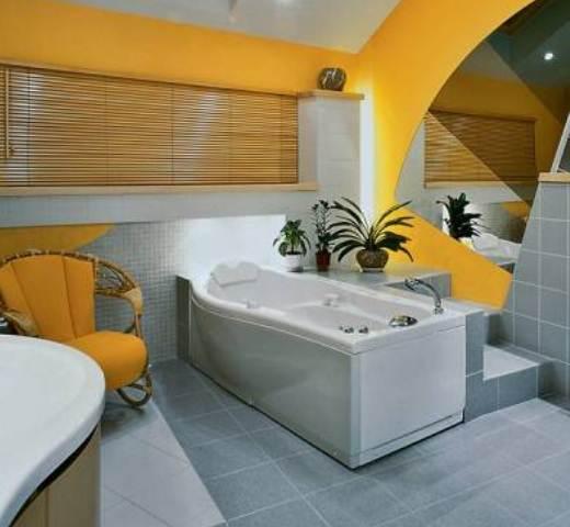 Конструкции из гипсокартона в ванной
