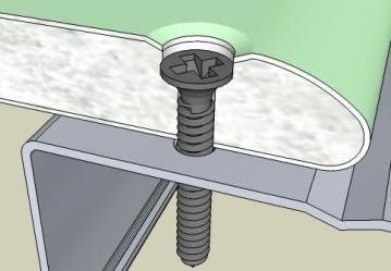 Крепление гипсокартона к стене саморезами – это проверенная методика