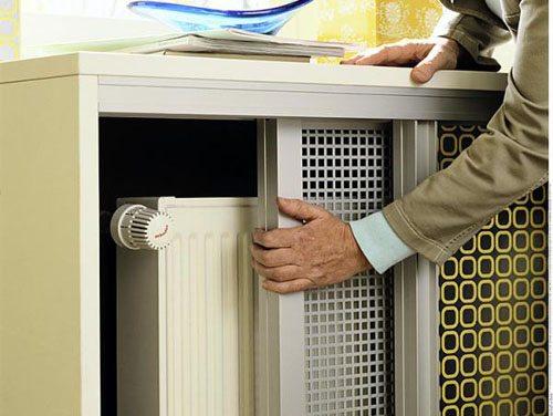 крепление радиаторов отопления на гипсокартон