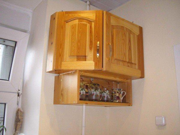 Мебельная конструкция на стене из ГКЛ
