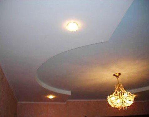 монтаж многоуровневых потолков из гипсокартона видео
