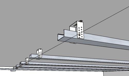 монтаж подвесного потолка из гипсокартона своими руками
