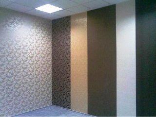 Обои на стены – это просто. Фото оклеивания встык.