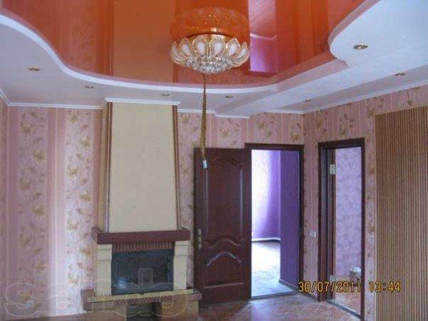 Образец комбинированного потолка