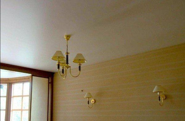 образцы гипсокартонных потолков