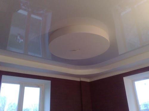 оформление гипсокартоном потолка