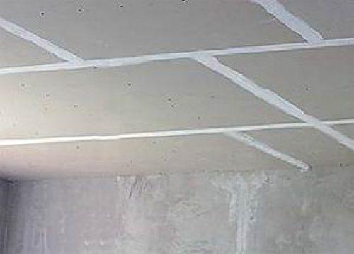 отделка гипсокартоном потолка своими руками