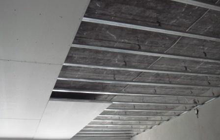 отделка потолков из гипсокартона