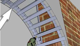 перемычки из профиля для арки из гипсокартона