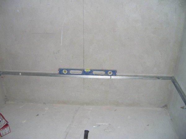 плитка в ванной комнате на гипсокартон