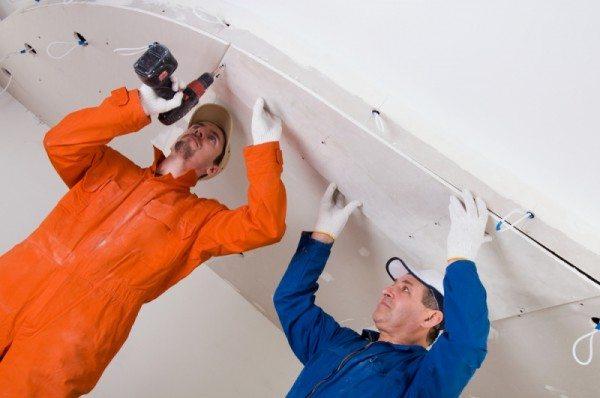 подшиваем гипсокартоном потолок