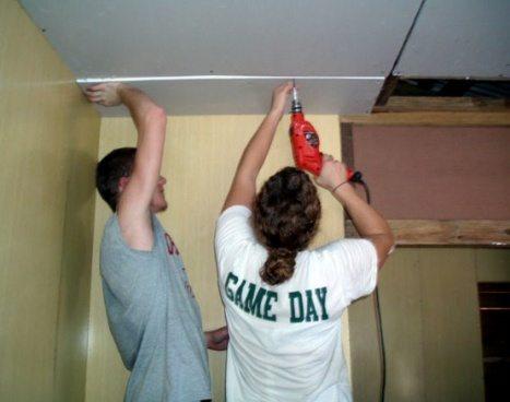 подвесной потолок из гипсокартона многоуровневый своими руками