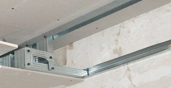 подвесные потолки с гипсокартона