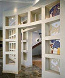Полки из гипсокартона – произведение строительного искусства