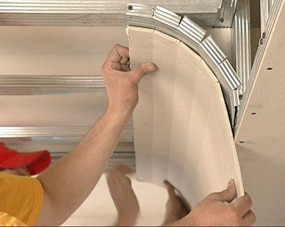 потолки для спальни из гипсокартона
