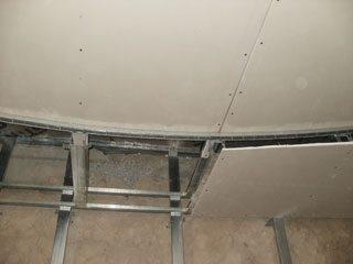 потолки из гипсокартона многоуровневые