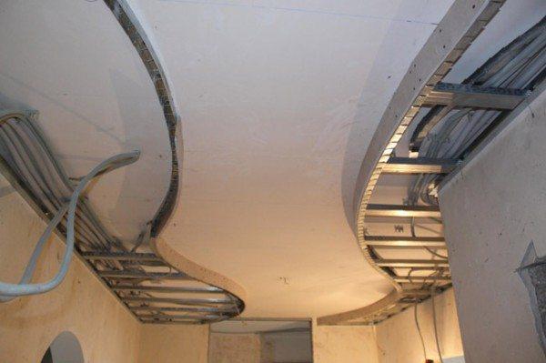 потолки многоярусные из гипсокартона