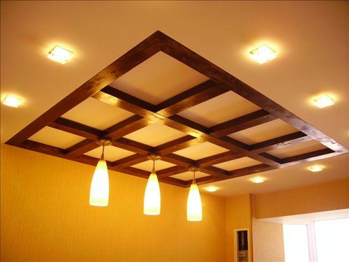 потолки подвесные из гипсокартона