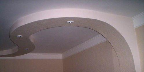 потолок гипсовый
