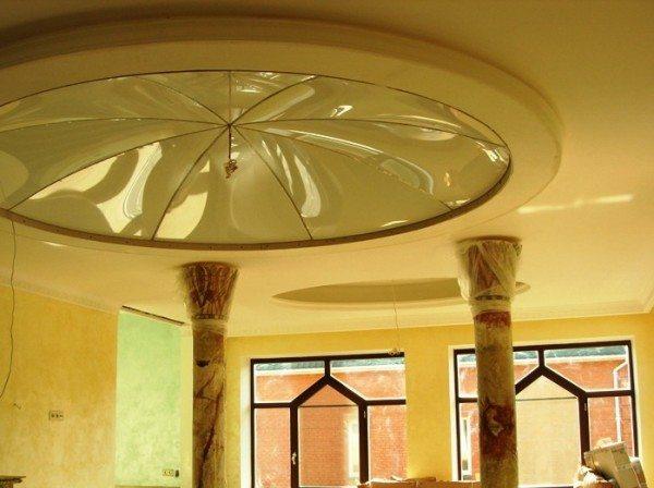 потолок из гипсокартона дизайн