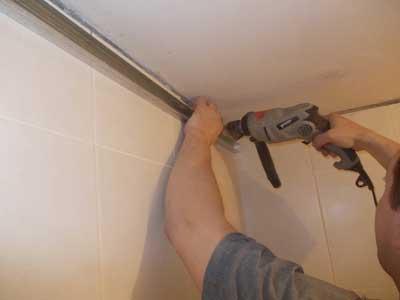 потолок из гипсокартона своими руками в ванной