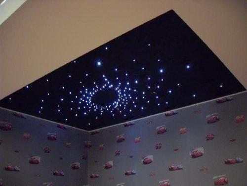 потолок из гипсокартона звездное небо