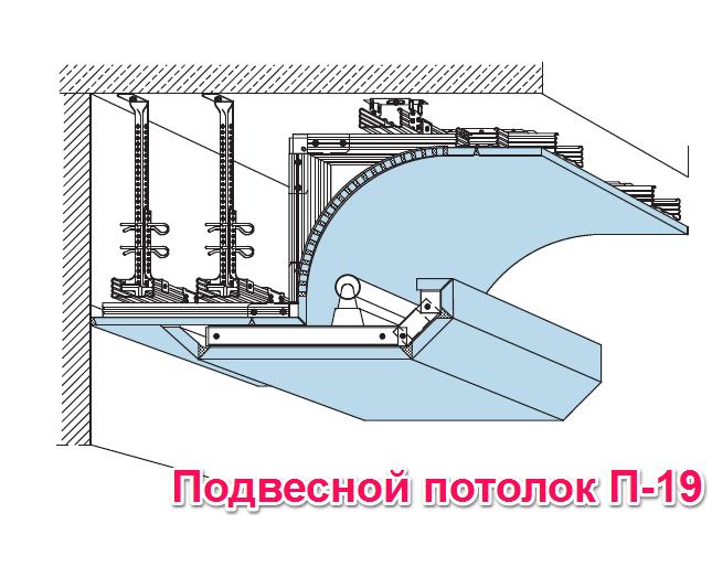Подвесной потолок П19
