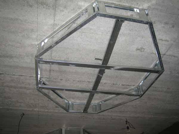 потолок в спальне из гипсокартона с подсветкой