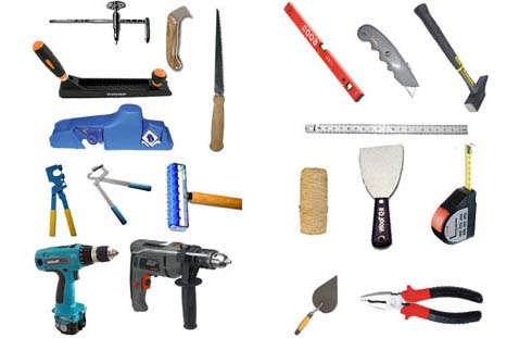 Приблизительно такой набор инструментов нам и понадобится