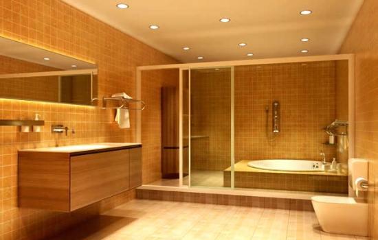 Применение гипсокартонной отделки при оформлении ванной комнаты