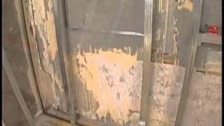 Пример металлической обрешетки при монтаже ГКЛ