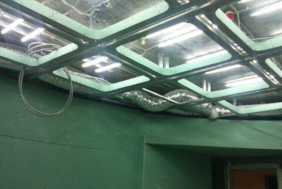 проекты подвесных потолков из гипсокартона