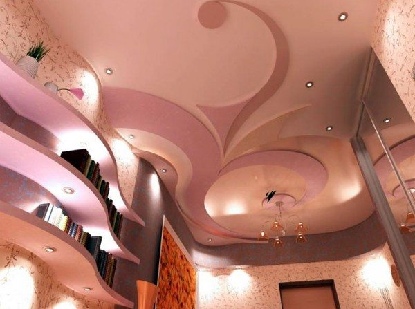 проекты потолков из гипсокартона