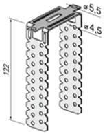 Размеры прямого крепежа для ГКЛ