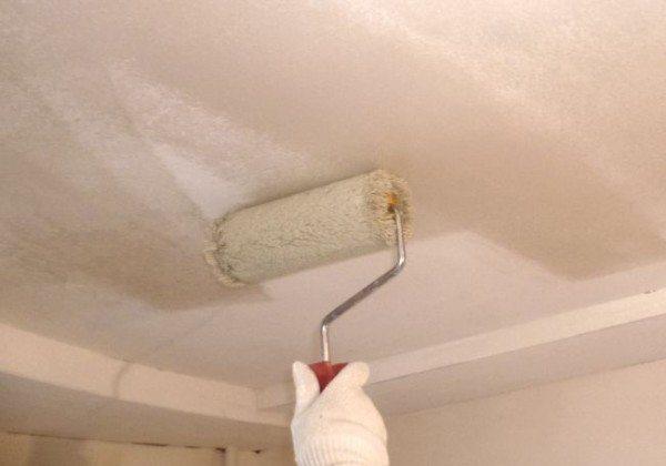 ремонт из гипсокартона потолков