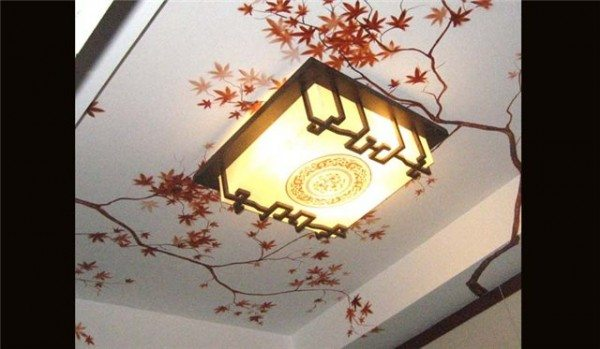 рисунки потолка из гипсокартона