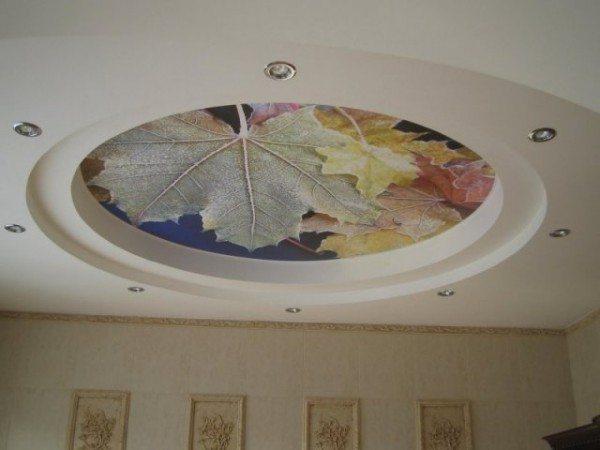 рисунки потолков из гипсокартона