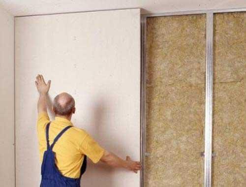 Самый удобный вариант отделки стен.