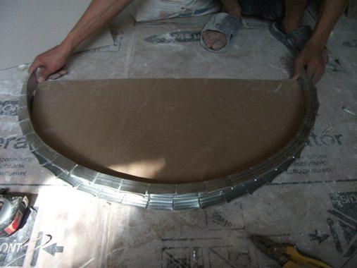 сделать арку из гипсокартона в коридоре